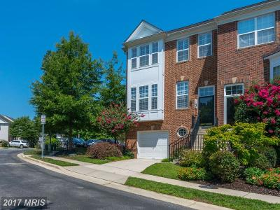 Annapolis Townhouse For Sale: 1137 August Drive