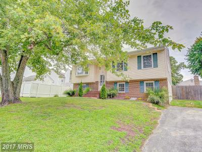 Edgewater MD Single Family Home For Sale: $324,990