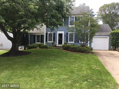 Severna Park Single Family Home For Sale: 249 Moreau Court