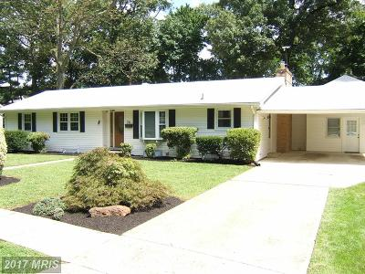 Severna Park MD Single Family Home For Sale: $569,900
