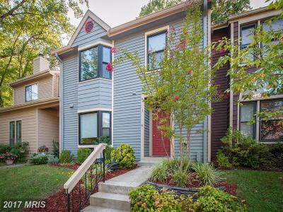 Annapolis Townhouse For Sale: 474 Fawns Walk