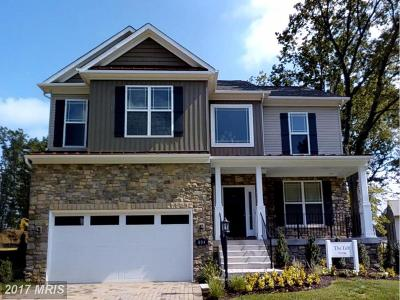 Severn Single Family Home For Sale: 8420 Spring Creek Way