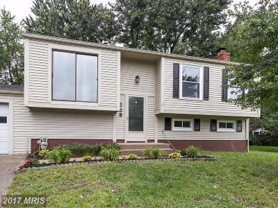 Severna Park Single Family Home For Sale: 258 Catalina Circle