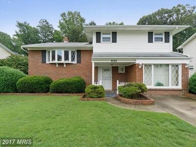 Glen Burnie Single Family Home For Sale: 8122 Phirne Road E