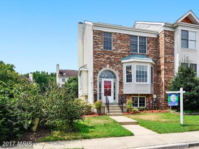 Odenton Townhouse For Sale: 291 Saint Michaels Circle