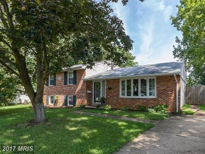 Annapolis MD Single Family Home For Sale: $345,000