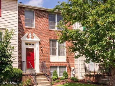 Odenton Townhouse For Sale: 721 Quiet Pond Court