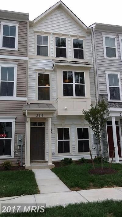 Glen Burnie Townhouse For Sale: 336 White Oak Way