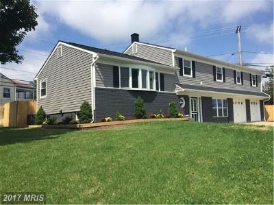 Glen Burnie Single Family Home For Sale: 731 Baylor Road