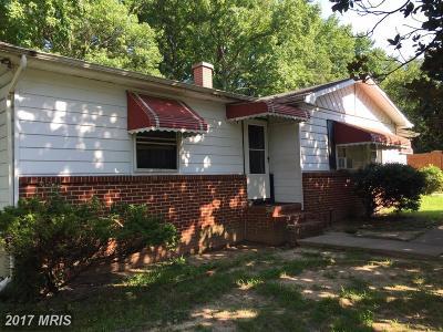 Glen Burnie Single Family Home For Sale: 6573 Booker Avenue