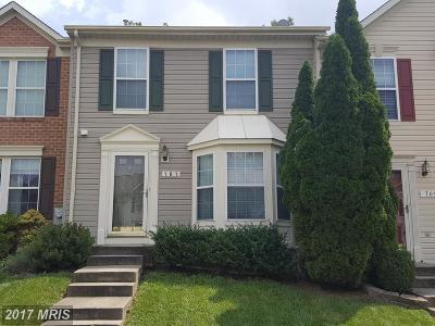 Odenton Townhouse For Sale: 707 Summer Ridge Court