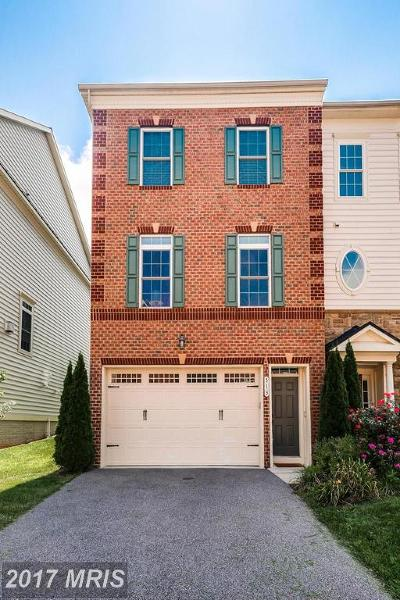 Annapolis Townhouse For Sale: 513 Deep Creek View