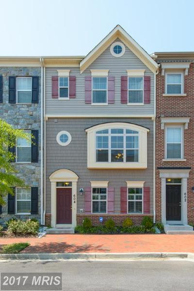 Annapolis Townhouse For Sale: 604 Cherry Grove Avenue S