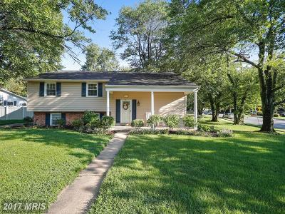 Severna Park MD Single Family Home For Sale: $475,000