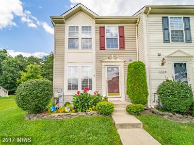 Odenton Townhouse For Sale: 1532 Falling Brook Court
