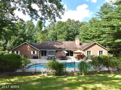Davidsonville Single Family Home For Sale: 1005 Saint George Barber Road
