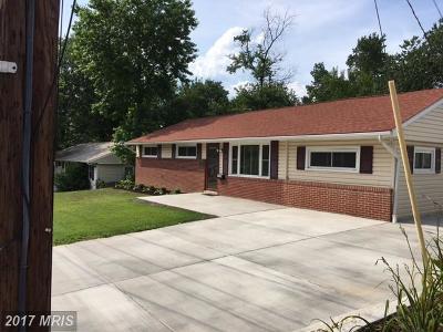Odenton Single Family Home For Sale: 1242 Duke Lane
