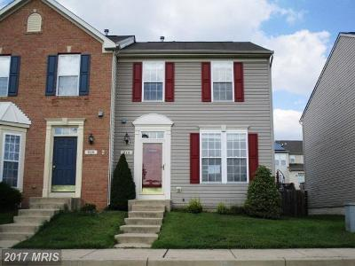 Anne Arundel Townhouse For Sale: 914 Glaze Court