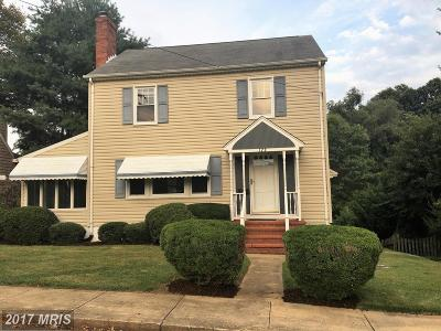 Annapolis Single Family Home For Sale: 120 Woodlawn Avenue