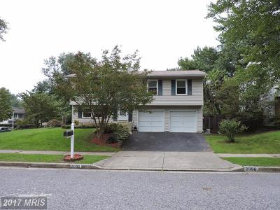 Crofton Single Family Home For Sale: 2096 Pear Hill Court