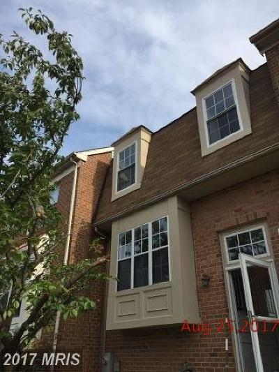 Anne Arundel Townhouse For Sale: 1313 Cox Cove Court