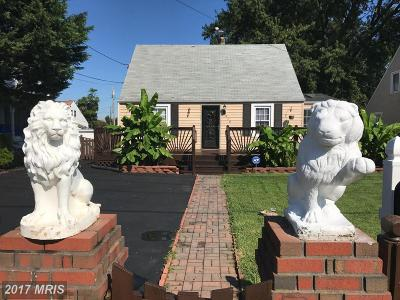 Anne Arundel Single Family Home For Sale: 516 Church Street