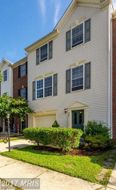 Edgewater Townhouse For Sale: 206 Braxton Way