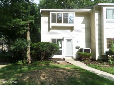 Annapolis Townhouse For Sale: 1220 Gemini Drive #R