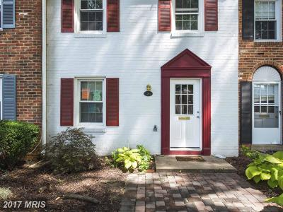 Annapolis Townhouse For Sale: 16 Georgetown Court #3