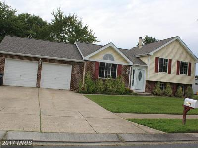 Hanover MD Single Family Home For Sale: $329,900