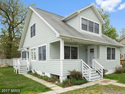 Shady Side Single Family Home For Sale: 1215 Oak Avenue