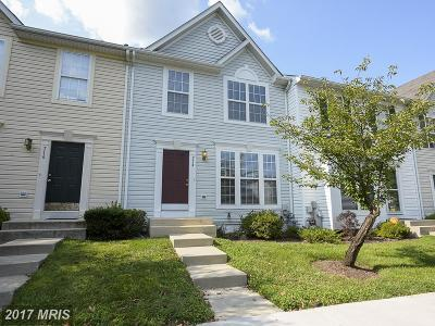 Odenton Townhouse For Sale: 714 Horse Chestnut Court