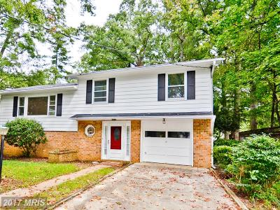 Annapolis Single Family Home For Sale: 3503 Rockway Avenue