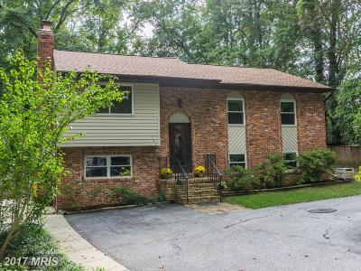 Annapolis Single Family Home For Sale: 167 Woodside Trail