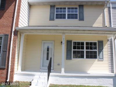 Millersville Condo For Sale: 270 Rebecca Ann Court