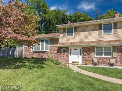 Glen Burnie Single Family Home For Sale: 393 Phirne Road W