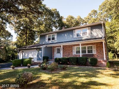 Millersville Single Family Home For Sale: 300 Galena Court