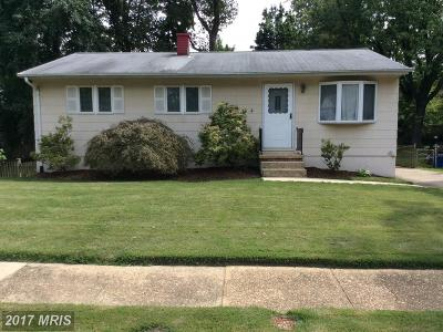 Annapolis Single Family Home For Sale: 119 Janwall Street