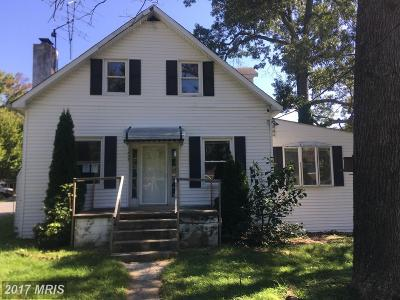 Anne Arundel Single Family Home For Sale: 1635 Shore Drive