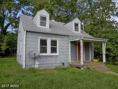 Annapolis Single Family Home For Sale: 1014 Jackson Street