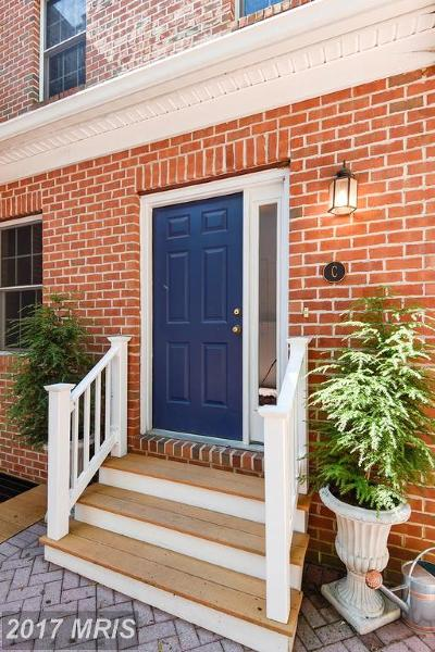 Annapolis Townhouse For Sale: 222 West Street #C