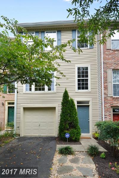 Annapolis Townhouse For Sale: 103 Quiet Waters Place