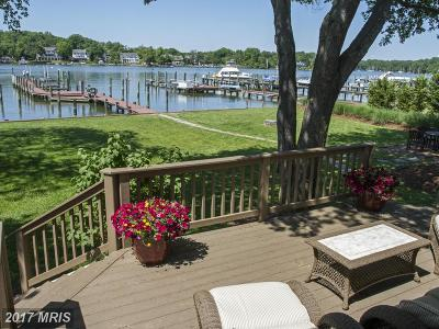 Annapolis Single Family Home For Sale: 36 East Lake Drive