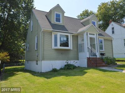 Anne Arundel Single Family Home For Sale: 223 Orchard Avenue