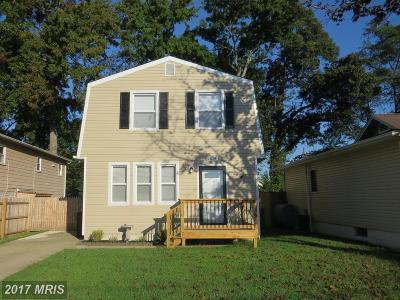 Edgewater Single Family Home For Sale: 1614 Marlboro Road
