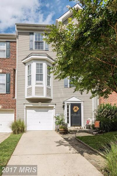 Annapolis Townhouse For Sale: 1410 Stonehurst Drive #54
