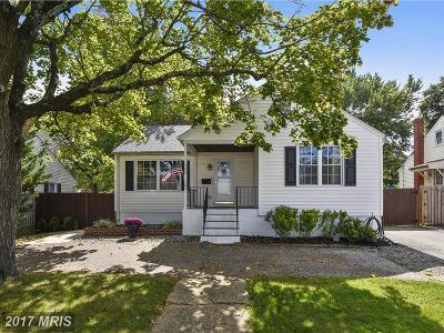 Linthicum Single Family Home For Sale: 545 Cleveland Road