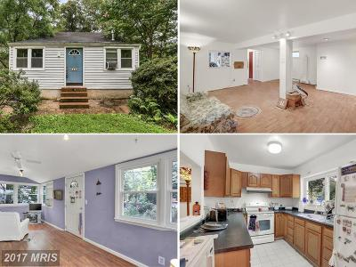Crownsville Single Family Home For Sale: 378 Lake Road