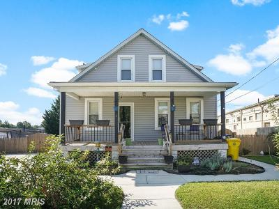 Glen Burnie Single Family Home For Sale: 1 5th Avenue N
