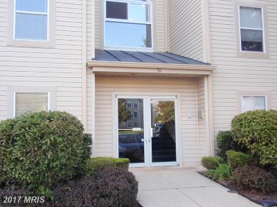 Annapolis Condo For Sale: 30 Hearthstone Court #E